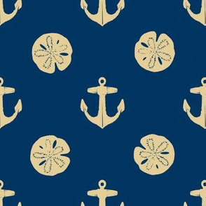 anchors_and_sandollars_khaki_on_navy