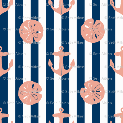 anchors_and_sandollars_nan_red_on_navy_and_white