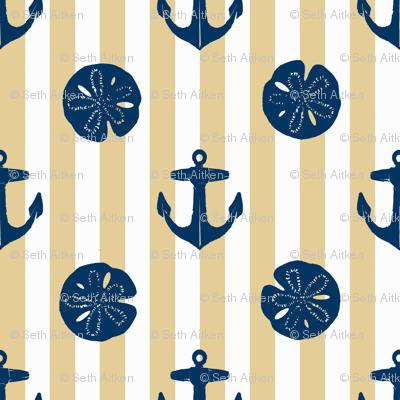 anchors_and_sandollars_navy_on_khaki_and_white