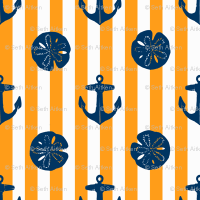 anchors_and_sandollars_navy_on_orange_and_white