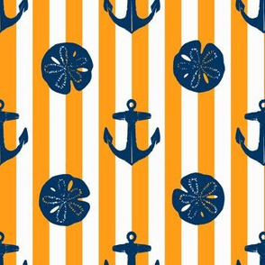 anchors_and_sandollars_navy_on_orange_and_white