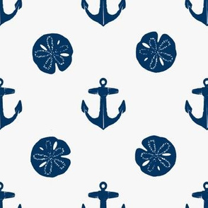 anchors_and_sandollars_navy_on_white