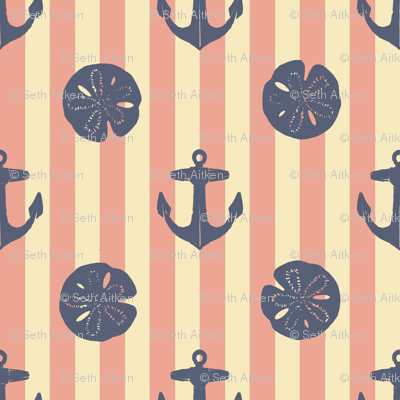 anchors_and_sandollars_weathered_blue_on_nan_red_and_cream