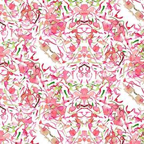 watercolour abstract mixed