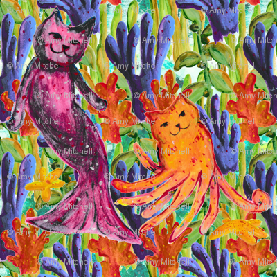 Mer-Cat & Octo-Kitty -small