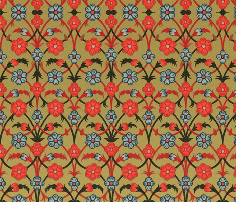 indo-persian 26 fabric by hypersphere on Spoonflower - custom fabric