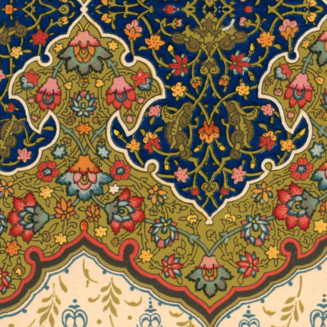 indo-persian 28 fabric by hypersphere on Spoonflower - custom fabric