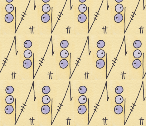 Abstract 2 fabric by kae50 on Spoonflower - custom fabric
