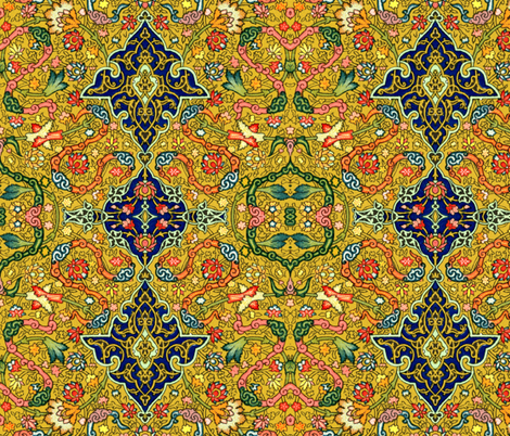 indo-persian 30 fabric by hypersphere on Spoonflower - custom fabric