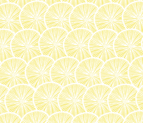 Summertime Lemonade  fabric by lissad on Spoonflower - custom fabric