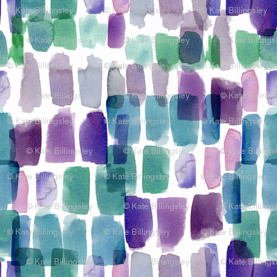 Jewels Watercolour Abstract