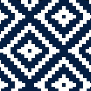 aztec on navy