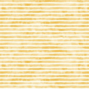 (small scale) watercolor stripe goldtone - mermaid coordinate (warm)