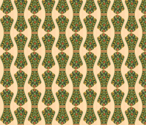 indo-persian 52 fabric by hypersphere on Spoonflower - custom fabric