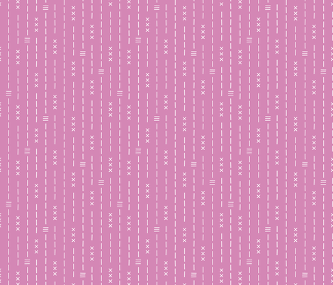 Basic vintage tribal ethnic aztec arrows stripes and crosses colorful pink girls fabric by littlesmilemakers on Spoonflower - custom fabric