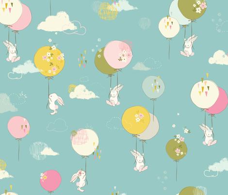 Floating fun fabric by lisa-glanz on Spoonflower - custom fabric