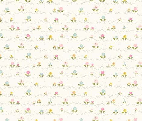 Flower hills fabric by lisa-glanz on Spoonflower - custom fabric