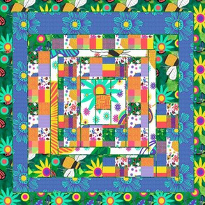 A Windy Spring Day Quilt Block 2