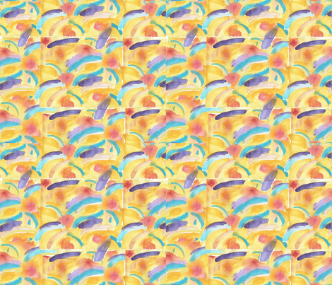 Abstract_Watercolour fabric by amanda_jane_textiles on Spoonflower - custom fabric