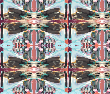 BlueBrush fabric by choffman on Spoonflower - custom fabric