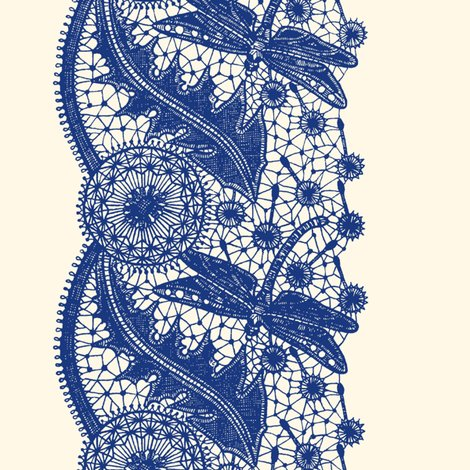 Rdragonfly_lace___border_print___willow_ware_blue_on_cosmic_latte___peacoquette_designs___copyright_2017_shop_preview
