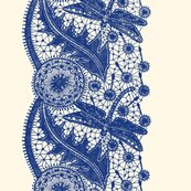 Rdragonfly_lace___border_print___willow_ware_blue_on_cosmic_latte___peacoquette_designs___copyright_2017_shop_thumb