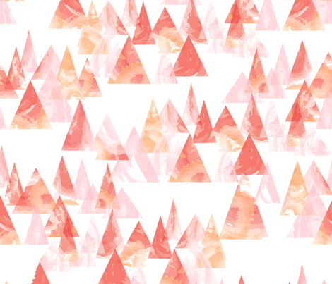 Hills and Light fabric by otterspiel on Spoonflower - custom fabric