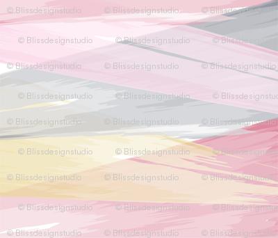 Abstract Diamond Watercolor // bliss design studio
