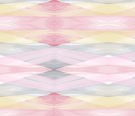 Abstract Diamond Watercolor // bliss design studio fabric by blissdesignstudio on Spoonflower - custom fabric