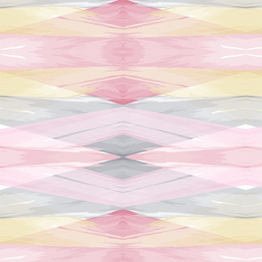 Abstract Diamond Watercolor // bliss design studio