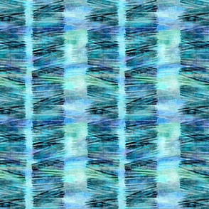 watercolor rows aqua