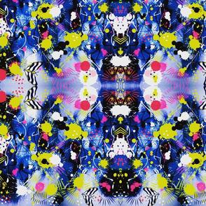 Beauty And Chaos Abstract Watercolor sewindigo