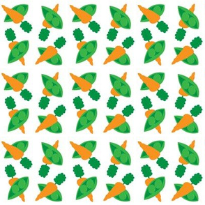 Peas And Carrots 2x2 with even more small