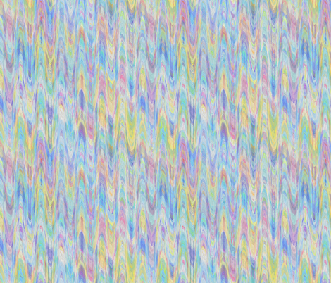 MARBLED PAPER WATERCOLOR BLUE YELLOW SUMMER fabric by paysmage on Spoonflower - custom fabric