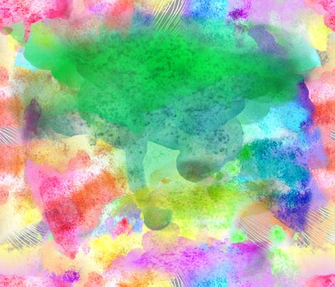 Abstract Rainbow fabric by irishvikingdesigns on Spoonflower - custom fabric