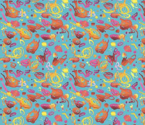 scribbleforspoonflower fabric by leigh_jacobs on Spoonflower - custom fabric
