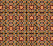 Mandala pattern fabric by embush96 on Spoonflower - custom fabric