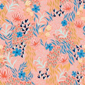 aprilfloral001spoonflowercoral
