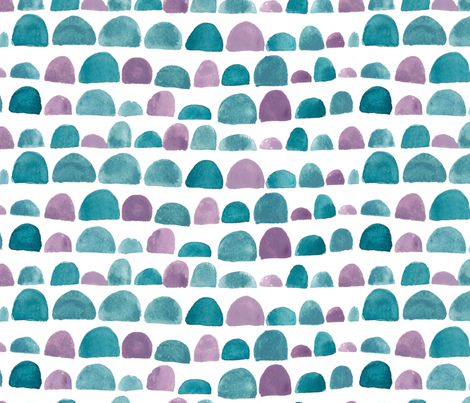 HILLS fabric by ivydoodlestudio on Spoonflower - custom fabric