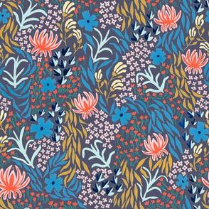 aprilfloral001spoonflowerpurple
