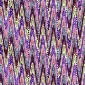 AFRICA ELEPHANT MARBLED PAPER ZIGZAG