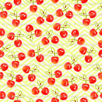 Cherries Jubilee Watercolor