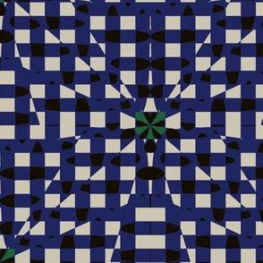 Shatter Gingham (Blue)