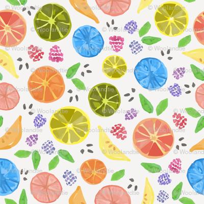 Citrus Berry Medley