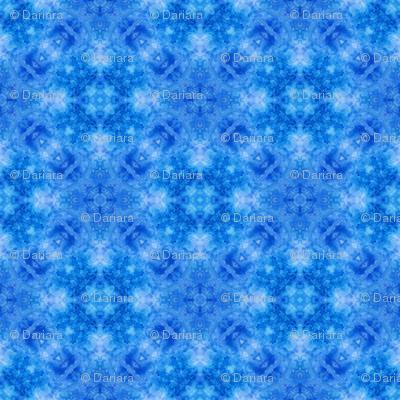 Blue watercolor Kaleidoscope