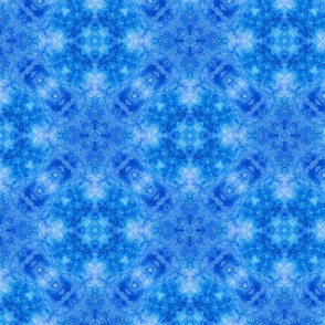 Blue watercolor Kaleidoscope