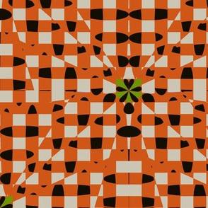 Shatter Gingham (Orange)