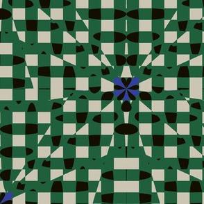 Shatter Gingham (Green)