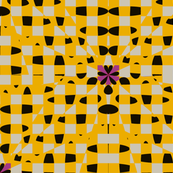 Shatter Gingham (Yellow)