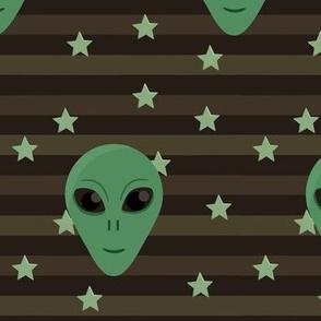 Alien Pattern in Dark